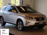 This 2015 Lexus RX 350 is equipped with: All Wheel