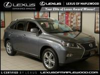 CARFAX 1-Owner  L/ Certified. RX 350 trim. PRICE DROP