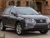 2015 Lexus RX 350. AWD and Black Leather. Monumental