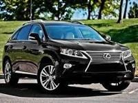 2015 Lexus RX 350. AWD and Black Leather. Fuel miser.
