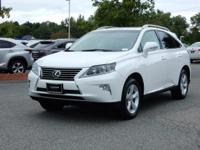2015 Lexus RX 350 in White, SUNROOF / MOONROOF, L/