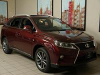 FUEL EFFICIENT 24 MPG Hwy/18 MPG City! RX 350 trim.