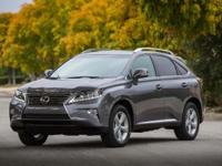 ***LEXUS CERITFIED*** and 2015 Lexus RX 350. AWD, Gray,