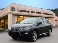 2015 Certified Lexus RX 450h AWD Hybrid with