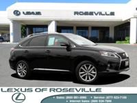 L CERTIFIED BY LEXUS|AWD!!  MOONROOF|Navigation|Premium