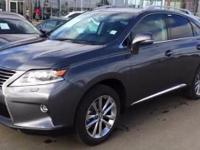 2015 Lexus RX 450h. 3.5L V6 DOHC VVT-i 24V, AWD, and