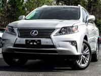 2015 Lexus RX 450h. 3.5L V6 DOHC VVT-i 24V, AWD, and