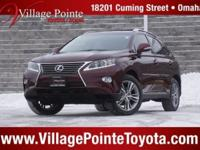CARFAX One-Owner. Clean CARFAX. Claret Mica 2015 Lexus