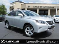 2015 Lexus Certified RX350 AWD, Navigation, Heated and