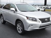 CARFAX One-Owner. Clean CARFAX. Silver 2015 Lexus RX