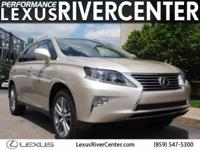 CARFAX One-Owner. Satin Cashmere Metallic 2015 Lexus RX