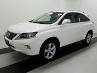 CARFAX One-Owner. Clean CARFAX. 2015 Ultra White Lexus
