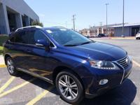 Trustworthy and worry-free, this Used 2015 Lexus RX 350