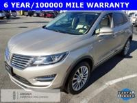 CARFAX One-Owner! Silver 2015 Lincoln MKC AWD 6-Speed