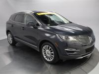 Recent Arrival! 2015 Lincoln MKC Select Gray CARFAX