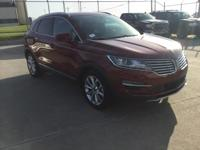 Recent Arrival! Lincoln MKC Red FWD CARFAX One-Owner.