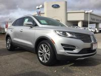 Options:  2015 Lincoln Mkc Base|Silver|3.36 Axle