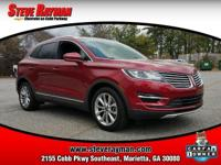 MKC TRIM LEVEL, LEATHER INTERIOR, HEATED SEATS, CD