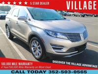 Village Cadillac is proud too offer this 2015 Lincoln