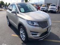 Climb inside the 2015 Lincoln MKC! Injecting
