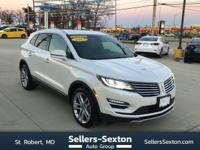 This outstanding example of a 2015 Lincoln MKC is