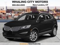 All Wheel Drive! Turbocharged! 2015 Lincoln MKC. Are