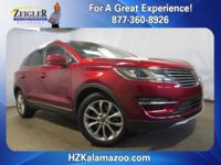 Recent Arrival! 2015 Lincoln MKC Ruby Red **LEATHER