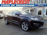 CARFAX One-Owner. Clean CARFAX. Black 2015 Lincoln MKC