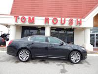 New Price! Tuxedo Black 2015 Lincoln MKS AWD 6-Speed