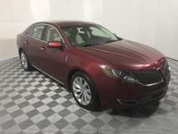 CARFAX One-Owner. Clean CARFAX. Red 2015 Lincoln MKS