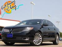 2015 Lincoln MKS Tuxedo Black 6-Speed Automatic with