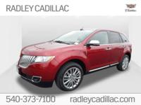 CARFAX One-Owner. Clean CARFAX. 2015 Lincoln MKX Base