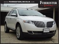 2015 Lincoln MKX, White Platinum Metallic Tri-Coat, AWD