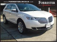 2015 Lincoln MKX Elite, White Platinum, AWD / 4WD,