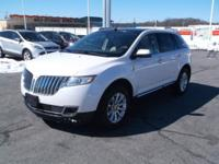 White 2015 Lincoln MKX AWD 6-Speed Automatic with