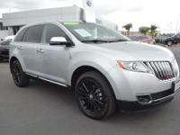 This Lincoln MKX is Certified Preowned! CARFAX 1-Owner!