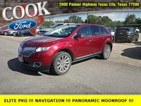 Ruby Red Metallic Tinted Clearcoat 2015 Lincoln MKX FWD