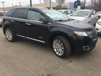 CARFAX One-Owner. Clean CARFAX. Black 2015 Lincoln MKX
