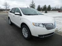 Options:  2015 Lincoln Mkx Base|White|Heated Front
