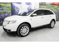 *Drive in style in this bright white 2015 Lincoln MKX