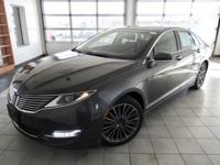 Magnetic Metallic 2015 Lincoln MKZ FWD 6-Speed