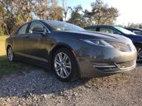 Elegantly expressive, this 2015 Lincoln MKZ will