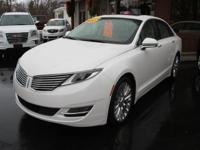 Options:  2015 Lincoln Mkz Base 4Dr Sedan|White|If You