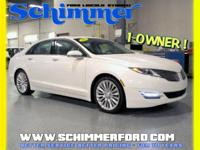 Used 2015 LINCOLN MKZ AWD Sunroof in stock at Schimmer
