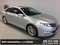 Recent Arrival! 2015 Lincoln MKZ AWD CARFAX One-Owner.