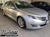 Recent Arrival! 2015 Lincoln MKZ in Silver, AUX