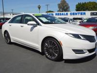 This Lincoln MKZ is Certified Preowned! CARFAX 1-Owner!