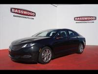For a smoother ride, opt for this 2015 Lincoln MKZ Base