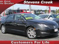 Options:  2015 Lincoln Mkz Mkz|Black|3.7L