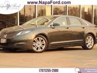 LINCOLN CERTIFIED PRE-OWNED 2015 Lincoln MKZ HYBRID